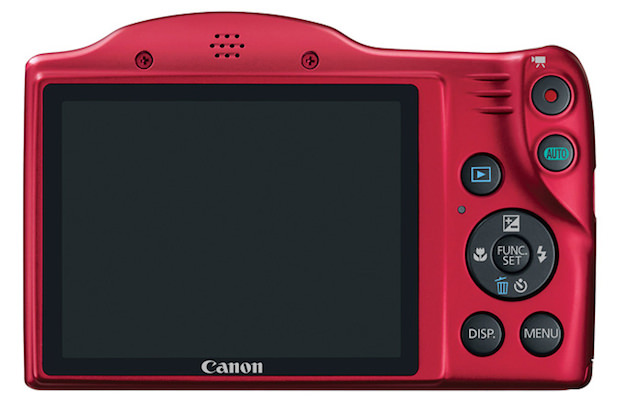 Canon PowerShot SX400 IS Digital Camera Back Red