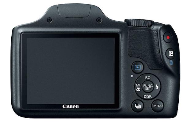 Canon PowerShot SX520 HS Back