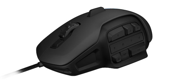 Roccat Nyth Gaming Mouse Side buttons