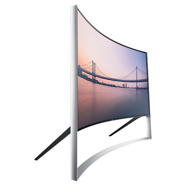 Samsung UN105S9W Curved UHD TV Side