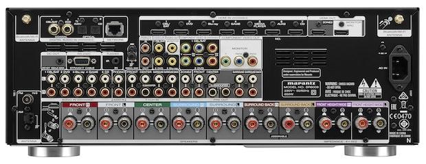 Marantz SR6009 A/V Receiver Back
