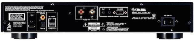 Yamaha BD-A1040 Blu-ray Player Back