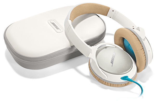 Bose QuietComfort 25 White Headphones