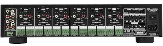 Parasound ZoneMaster 1250 amp back
