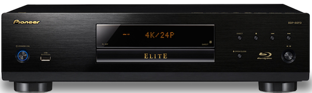 Pioneer Elite BDP-85FD Blu-ray Player