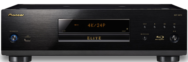 Pioneer Elite BDP-88FD Blu-ray Player Front