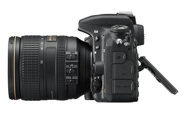 Nikon D750 Left
