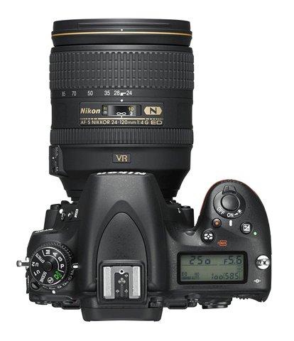 Nikon D750 Top
