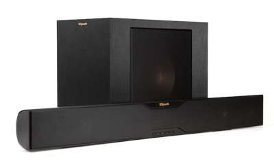 Klipsch Reference R-20B sound bar with wireless subwoofer
