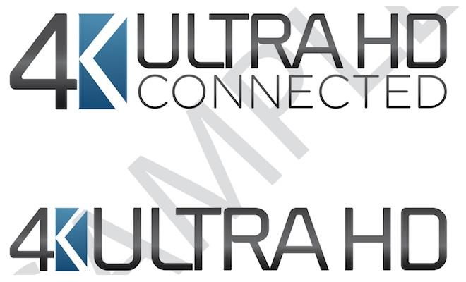 4K Ultra HD Logos