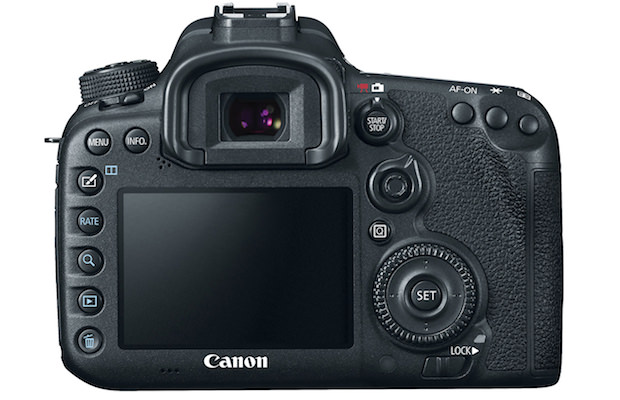 EOS 7D Mark II Digital SLR Back