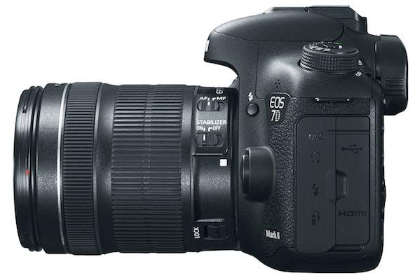 EOS 7D Mark II Digital SLR Side
