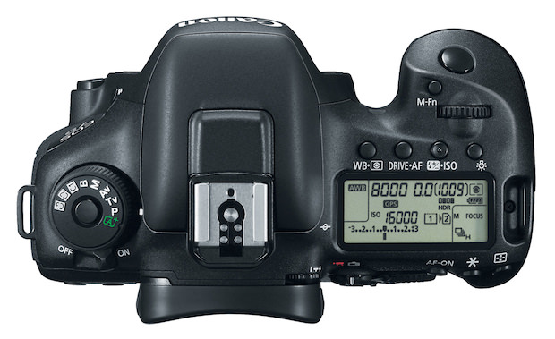 EOS 7D Mark II Digital SLR Top