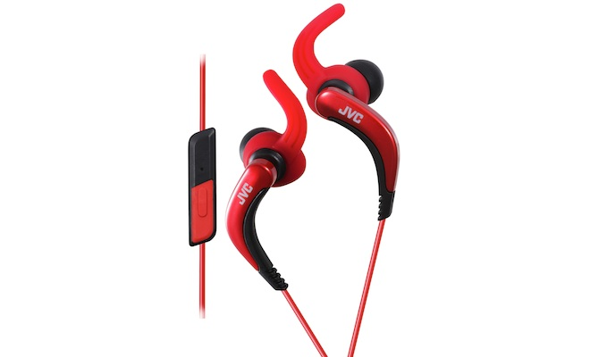 JVC HA-ETR40-R Extreme Fitness Earbuds