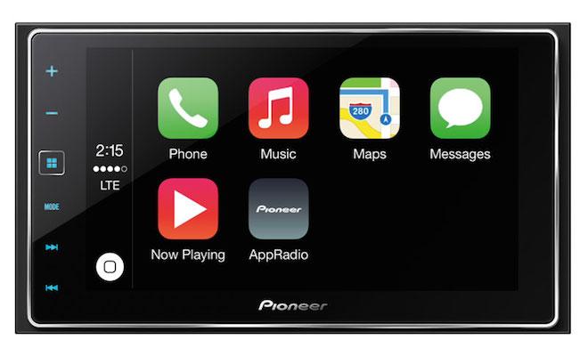 Pioneer SPH-DA120 CarPlay AppRadio 4