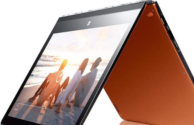 Lenovo Yoga 3 Pro Tent Mode