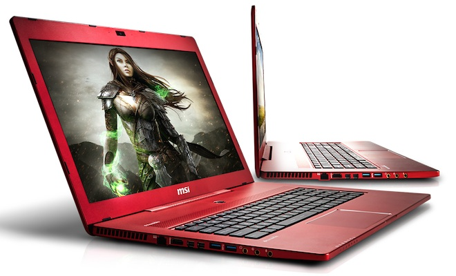 MSI GS70 Crimson Red Gaming Laptop