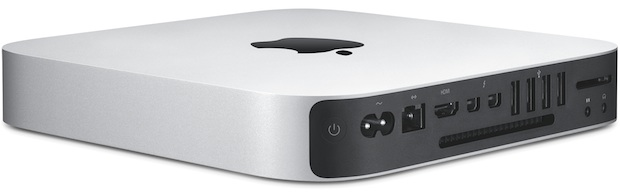 Apple Mac mini 2014 back