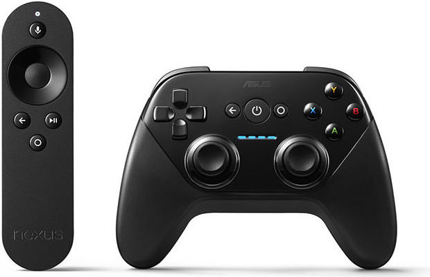 Google Nexus Player Remote and GamePad