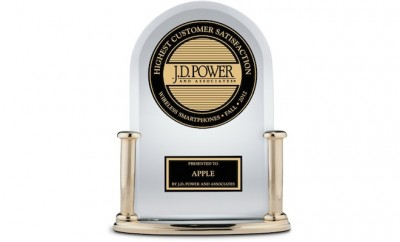 JD Power Apple Award