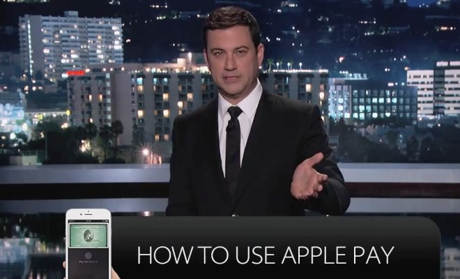 Jimmy Kimmel How to Use Apple Pay