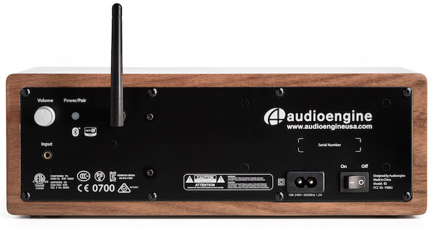 Audioengine B2 Bluetooth Speaker Back