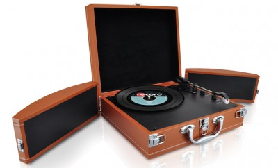 Pyle Audio PVTTBT8BR Turntable Briefcase