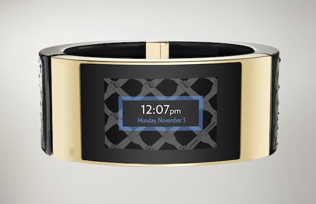 Intel MICA Smart Bracelet Screen
