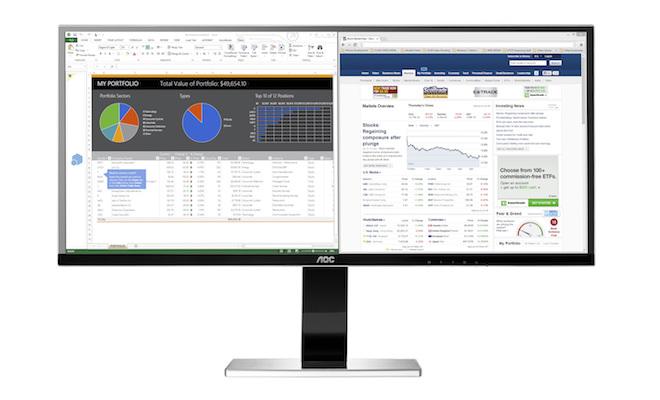 AOC U3477PQU Monitor