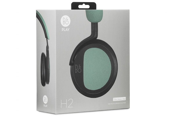 Bang & Olufsen BeoPlay H2 On-ear Headphones Box