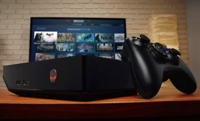 Alienware Alpha Gaming Desktop in Living Room