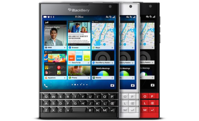 BlackBerry Passport Smartphones