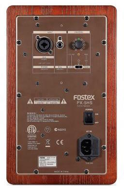 Fostex PX-5HS Back