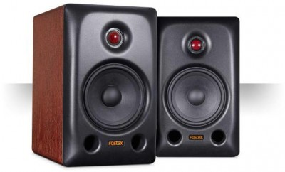 Fostex PX-5HS Active Bookshelf Speakers