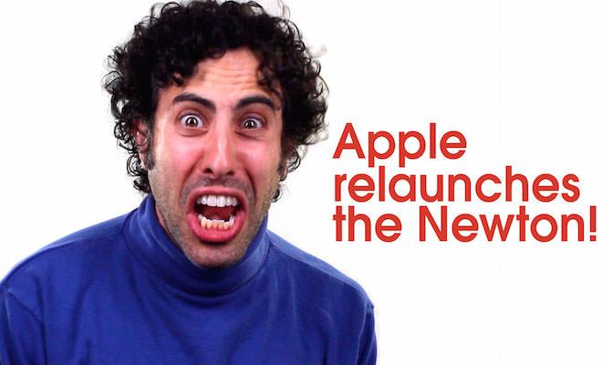 Apple Newton Relaunch Video