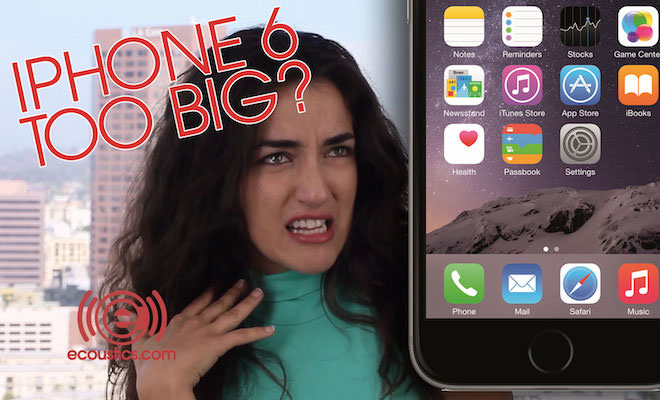 iPhone 6 too big for women