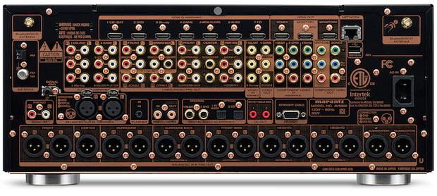 Marantz AV8802 Back