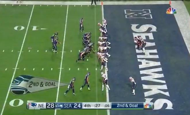 Super Bowl 49 Seahawks Last Play