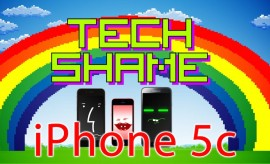 Tech Shame: iPhone 5c