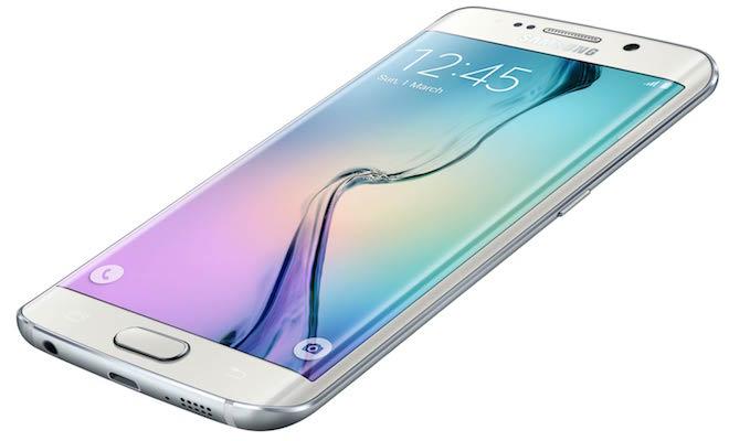 Samsung Galaxy S6 edge Smartphone White Pearl