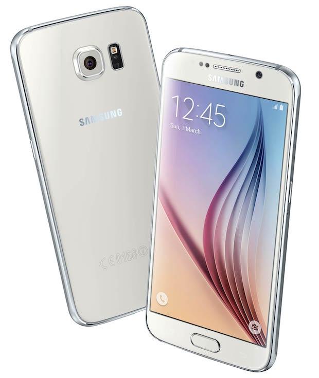 Samsung Galaxy S6 Smartphone White Pearl