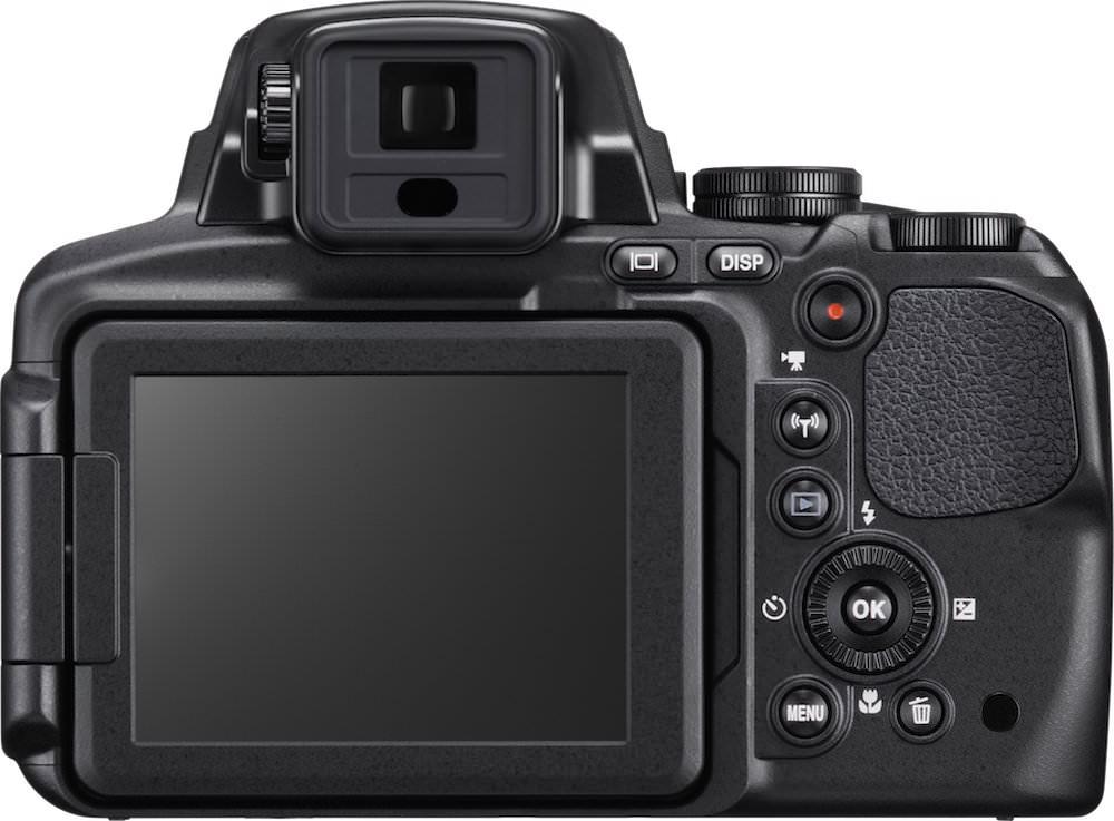Nikon COOLPIX P900 Back View