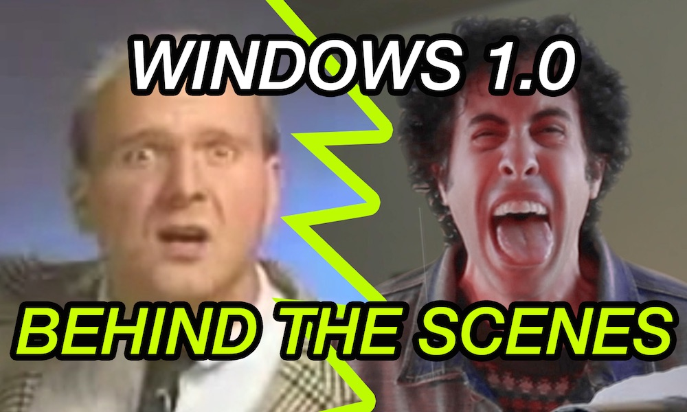 Steve Ballmer & Director Windows 1.0 Commercial 1985