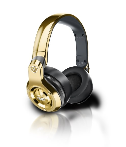 Monster 24K Gold Headphones