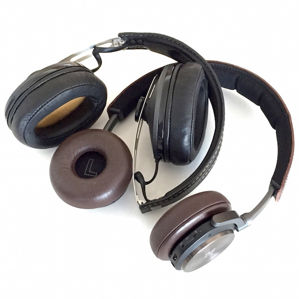 Bang & Olufsen BeoPlay H8 vs. Sennheiser Momentum Wireless Headphone Earcups