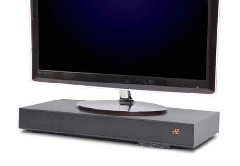 ZVOX 350 SoundBase under TV