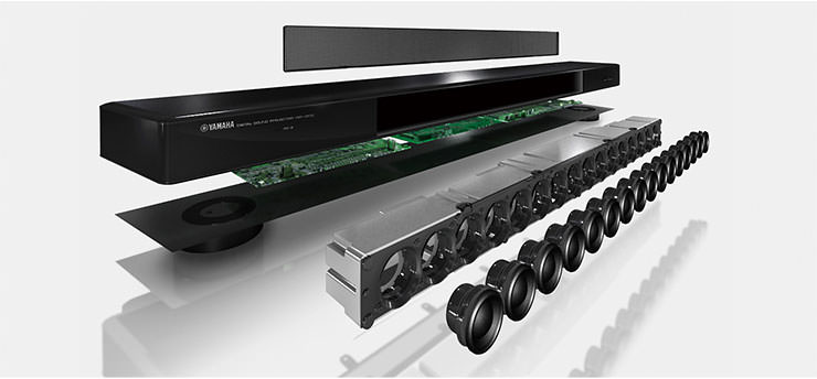 Yamaha YSP-2500 Sound Bar Speaker Array
