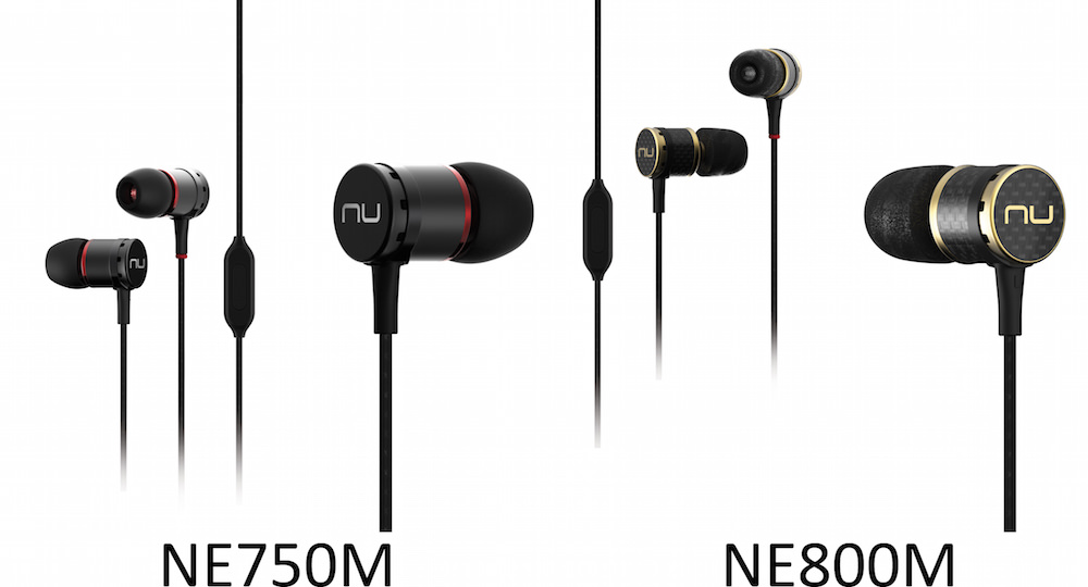 Optoma NE750M and NE800M Earphones