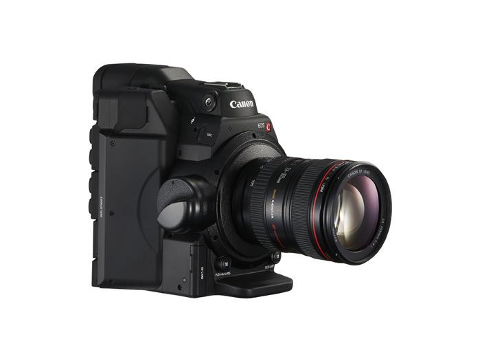 Canon EOS C300 Mark II Digital Cinema Camera and Lens