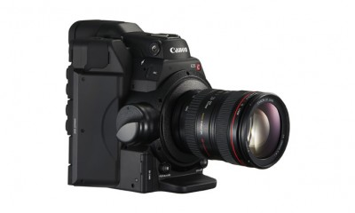 Canon EOS C300 Mark II Digital Cinema Camera and Lens